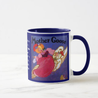 Mother Goose drinking cup