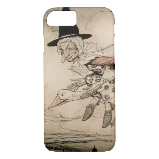 Mother Goose, frontispiece of 'Mother Goose The Ol iPhone 8/7 Case