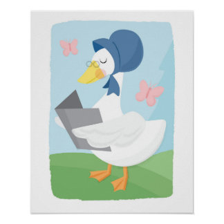 Mother Goose Poster