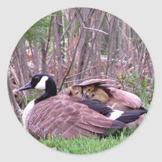 Mother Goose Round Stickers