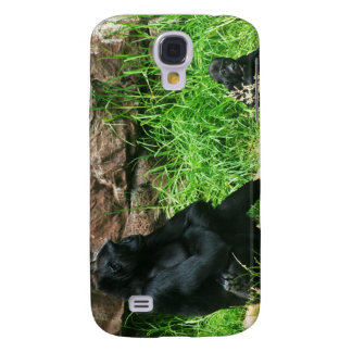 Mother Gorilla Watching Her 8 Month Old Baby Boy Galaxy S4 Case