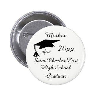 Mother, Grandmother ect. of a 20xx Grad 6 Cm Round Badge