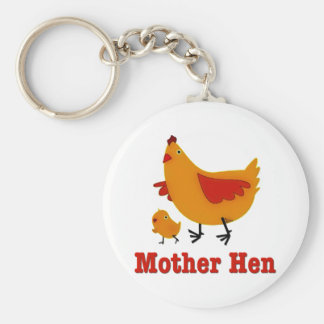 Mother Hen Key Ring