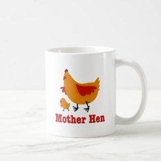 Mother Hen Basic White Mug