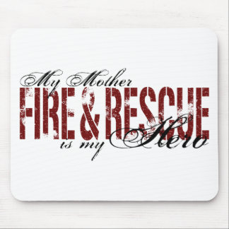 Mother Hero - Fire & Rescue Mouse Pad