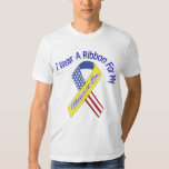 Mother-in-Law - I Wear A Ribbon Military Patriotic T-shirts