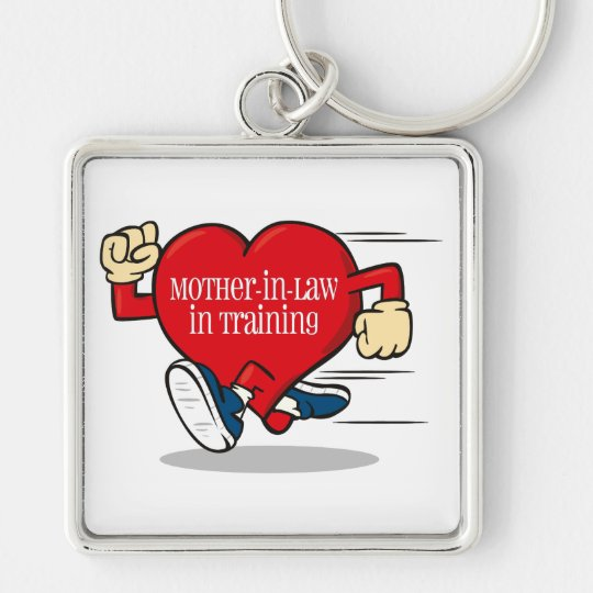 Mother-In-Law in Training Premium Key Chain