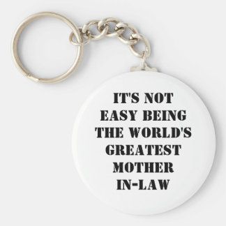 Mother-In-Law Key Ring