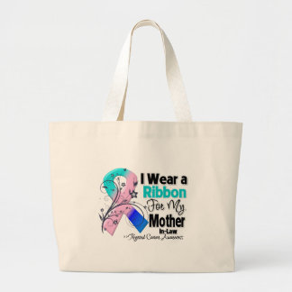 Mother-in-Law - Thyroid Cancer Ribbon Bag