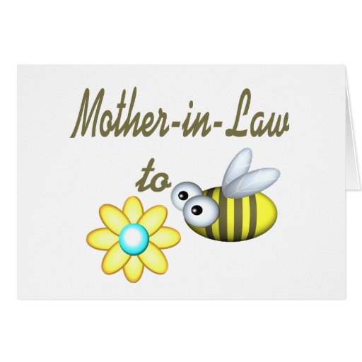 Mother In Law to Bee Greeting Cards