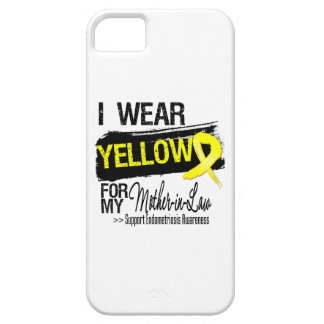 Mother-in-Law Yellow Ribbon Endometriosis iPhone 5 Cover