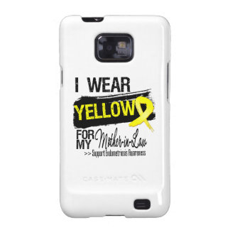 Mother-in-Law Yellow Ribbon Endometriosis Samsung Galaxy S2 Case