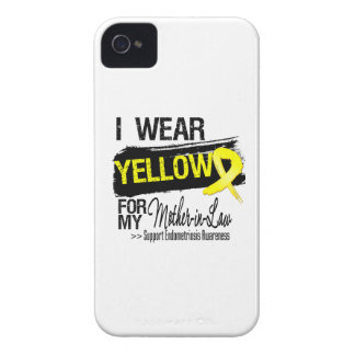 Mother-in-Law Yellow Ribbon Endometriosis iPhone 4 Covers