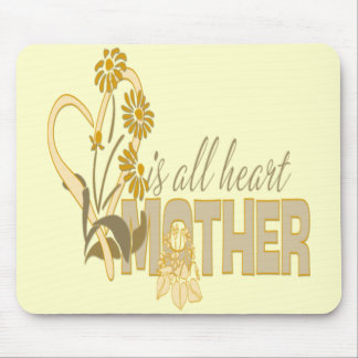 Mother Is All Heart - Mousepad