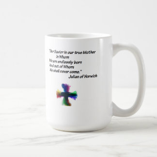 Mother Julian quote Basic White Mug