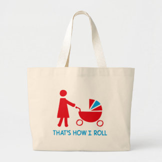 mother jumbo tote bag