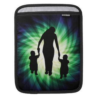Mother Kids Cool design iPad Sleeve