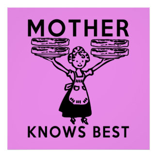 Mother Knows Best: Bacon! Poster