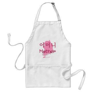 Mother (Korean) map Standard Apron