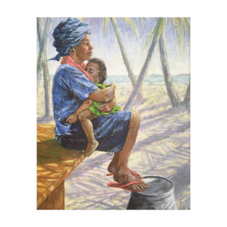 Mother Love 2003 Canvas Print