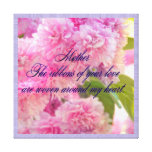 Mother Love Stretched Canvas Print