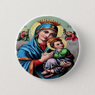 Mother Mary Button