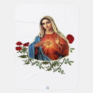 Mother Mary designs Baby Blanket