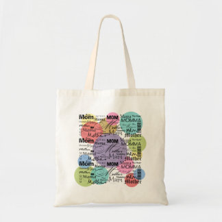 Mother Mom Mum Mama Mommy Budget Tote Bag