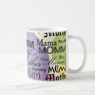 Mother Mom Mum Mama Mommy Basic White Mug