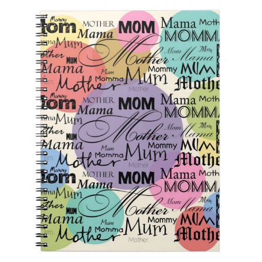 Mother Mom Mum Mama Mommy Journals