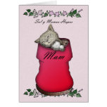 Mother, Mother' Day, Welsh Language Card