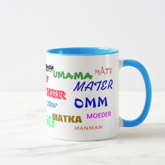 MOTHER Mug in Many Languages