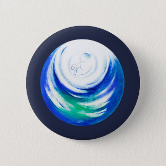 Mother Nature 6 Cm Round Badge