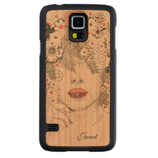 Mother Nature Abstract Wooden Samsung S5 Case