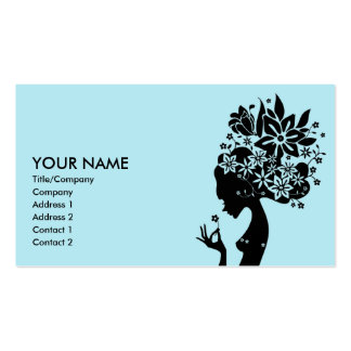 mother nature business card template