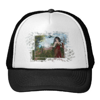Mother Nature Fantasy Designs Mesh Hats