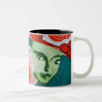 MOTHER NATURES TIME Two-Tone COFFEE MUG