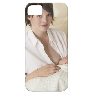 Mother nursing baby iPhone 5 cover