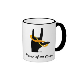 Mother of an Angel Coffee Mug