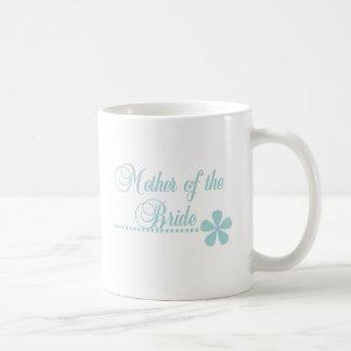 Mother of Bride Teal Elegance Coffee Mug