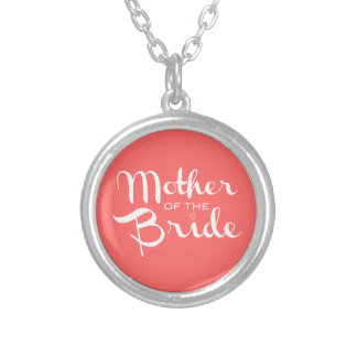 Mother of Bride White on Peach Jewelry