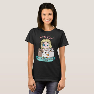 Mother of Cats Cute Kawaii Tshirt For Cat Lovers