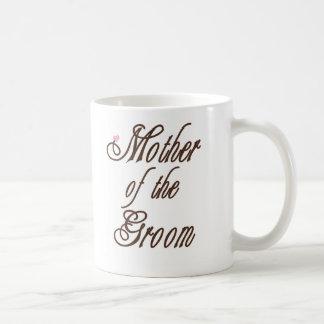 Mother of Groom Classy Browns Coffee Mug