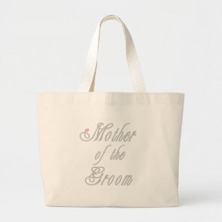 Mother of Groom Classy Grays Jumbo Tote Bag