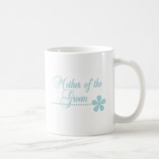 Mother of Groom Teal Elegance Coffee Mug