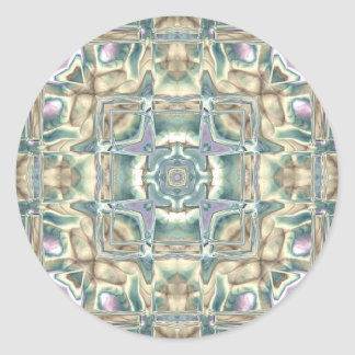 Mother of Pearl Classic Round Sticker