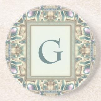 Mother of Pearl Drink Coaster