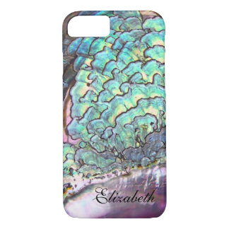 Mother-of-pearl Iridescent Jewel Personalized Case