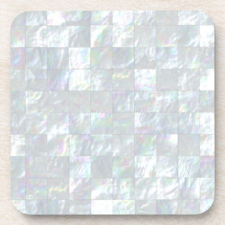 Mother Of Pearl Mosaic Coaster