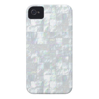 Mother Of Pearl Mosaic iPhone 4 Case-Mate Cases